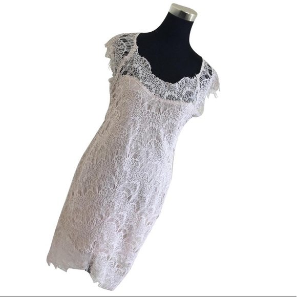 Free People Dresses & Skirts - Free People Intimately Peek A Boo Lace Dress NWT
